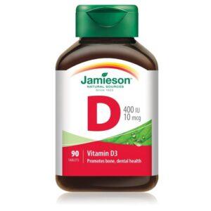 جاميسون فيتامين د 400 وحدة دولية