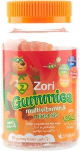 حلوى الفيتامينات مع المعادن زوري