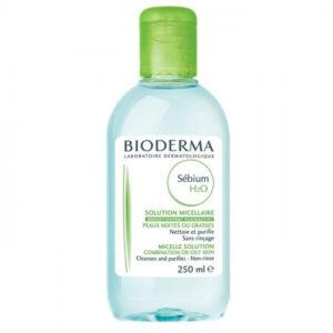 بيوديرما منظف للبشرة الدهنية 250 مل محلول مائي سيبيوم